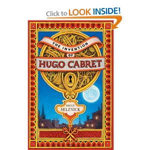 Cover of the book Hugo Cabret, link to Amazon.com